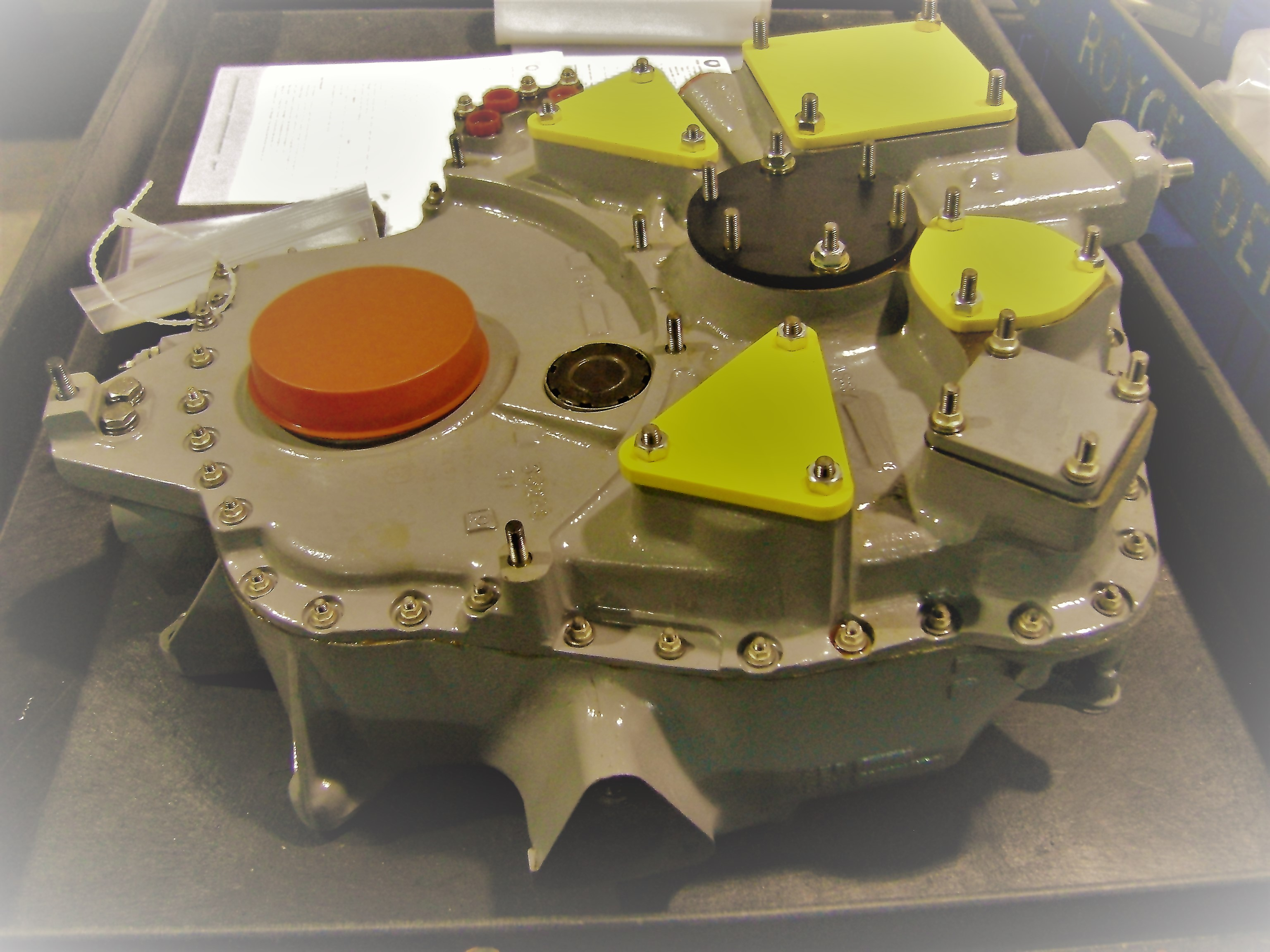 RR250 Gearbox